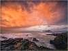 Amazing sunrise at Godrevy, Cornwall