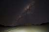 Milkyway over Carlo Sand Blow, Rainbow Beach, Queensland, Australia