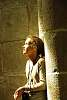My oldest in mont st michel church - france