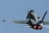 RAAF F/A-18A Hornet A21-033 over Parkes NSW