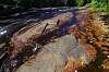 Autumn colors on Shawenegan Falls, Quebec