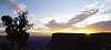 Grand Canyon sunrise.