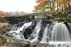 Waterfalls falling