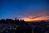 Fires in California, Sunrise in San Francisco