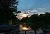 Tranquil Lagoon Sunset