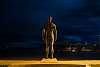 Statue in the night