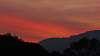 Bushfire smoke and Sunset