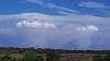 Pyrocumulus forming over the Palerang bushfire