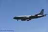KC-135 Stratotanker on short final to 34L at Jan