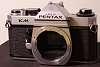 Pentax KM -- manual mechanical 35mm film camera -- CLA-ed June 2018