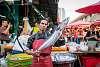 People of Khlong Toei market (not safe for vegans)