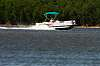 Pontoon headed to government cut