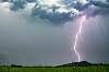 Lightning ground strike