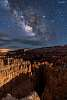 Milkyway Core Raising Over Bryce Canyon
