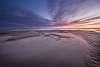 Sunset over De Hors, Texel