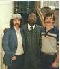 DV, Virgil Hawkins, and me