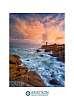 Men Ruz Lighthouse at Sunrise, Brittany, France