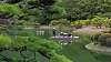 Ritsurin Gardens by boat