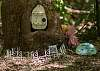 Fairy house with BLM sign.