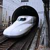 Bullet train at Kobe