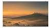 Two misty sunrises on the Tuscan hills