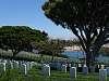 Point Loma Military Cemetery, near San Diego, Southern California.