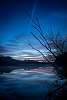 Blue Morning on the River