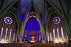 K1 + FA 20 mm f/2.8 + Pixel Shift on tripod. Cap-de-la-Madeleine Basilica's interior.