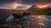 Two sunrises from the Isle of Skye