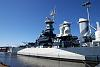 USS North Carolina WWII Battleship