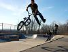 bmx sequence and skate ollie....