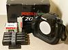 K20D (special grip) + D-BG2 + 4 D-LI50 batteris + Remote F (US)