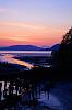 Tonight's sunset - over Chuckanut Bay & Samish River
