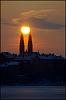 Kyrkor och solnedgångar..