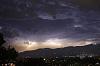 A turbulent sky above Mt Dandenong.