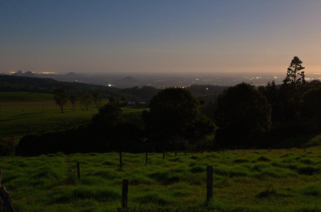 Moon Rise over the Sunshine Coast