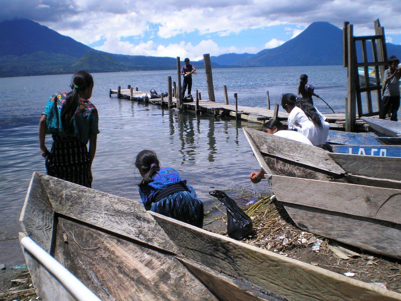Lake Atitlan Fishing boats