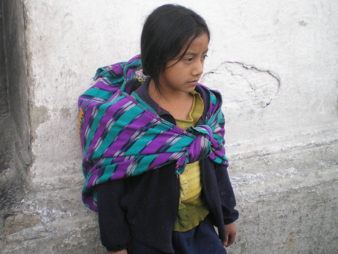 Chichicastenango Girl at Santo Tomas