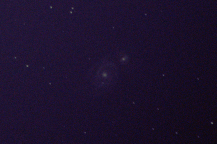 M51, 18x20s, 300mm, ISO800, Astrotracer