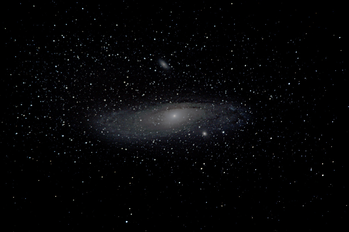 M31 in from a bright Bortle 8 - Astrophotography - PentaxForums com