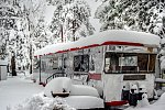 Winter in Big Bear Lake, California