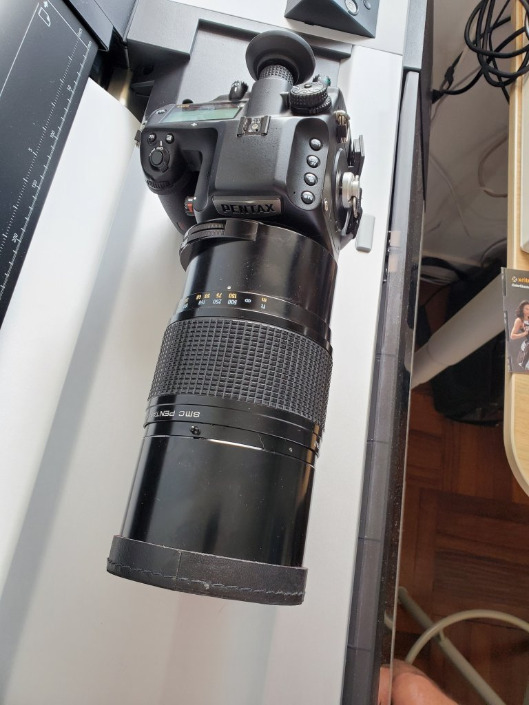Pentax 1000mm Reflex f11 lens on Pentax 645z with RAF Camera adapter