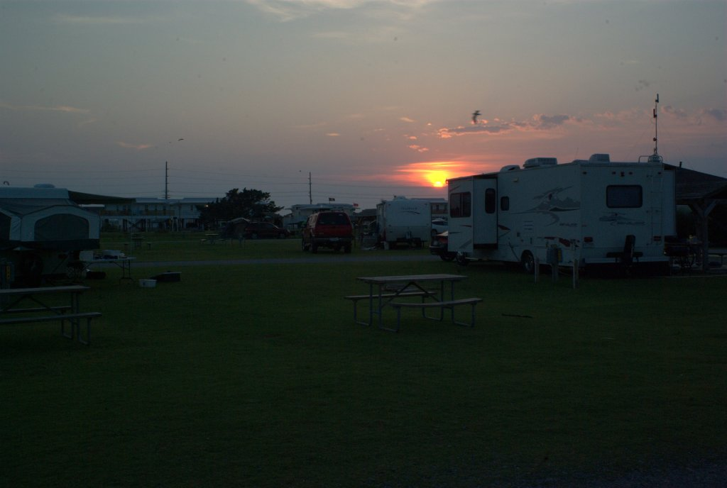 Another sunset shot from our campsite on Cape Hatteras.