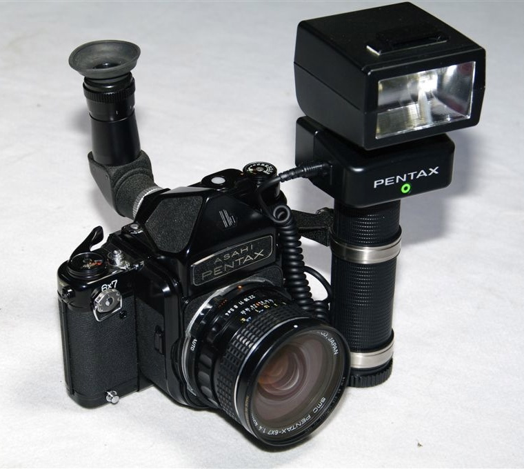 Pentax 6x7 MUP version AF400T flash and grip... - nedkelly69's ...