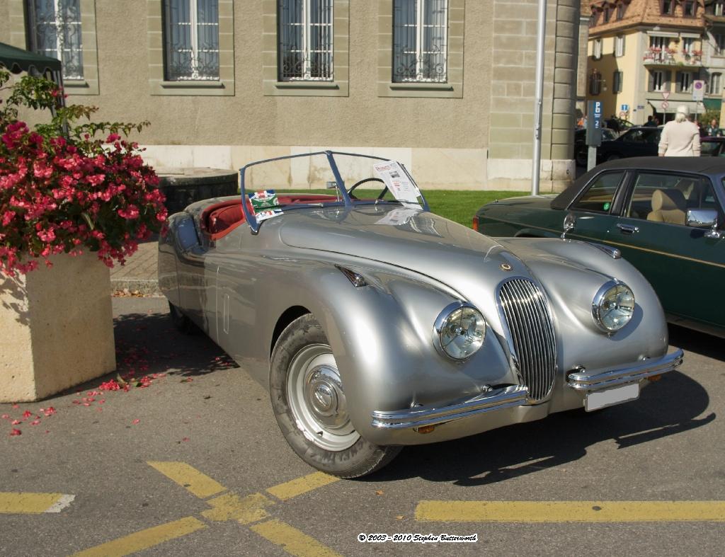 Jaguar XK120 - 1951 K10D F7.1 1/320 smc Pentax-DA 21mm F 3.2 Limited