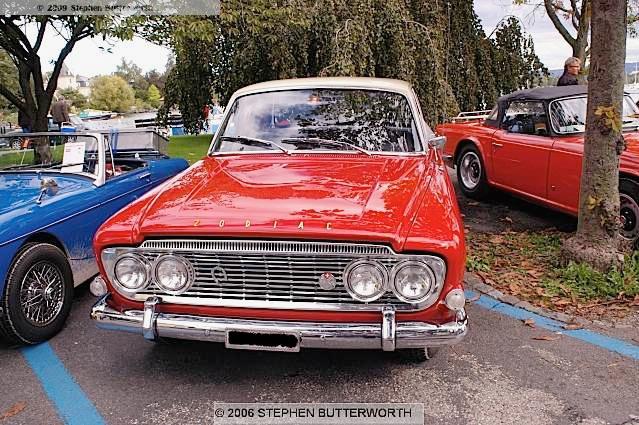Ford  Zodiac  MkIII  1963