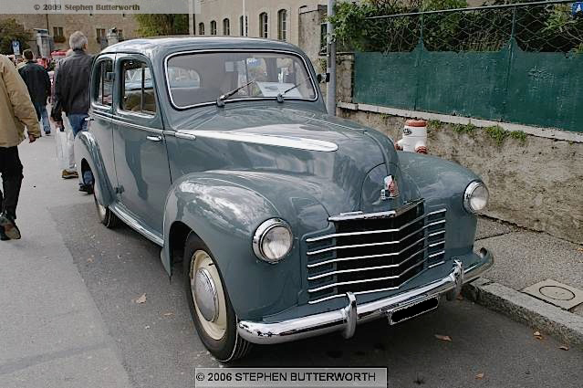 Vauxhall  Six  Velox  1948