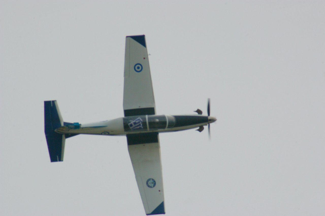 T6 DEADALUS Hellenic Air Force Solo Display Team