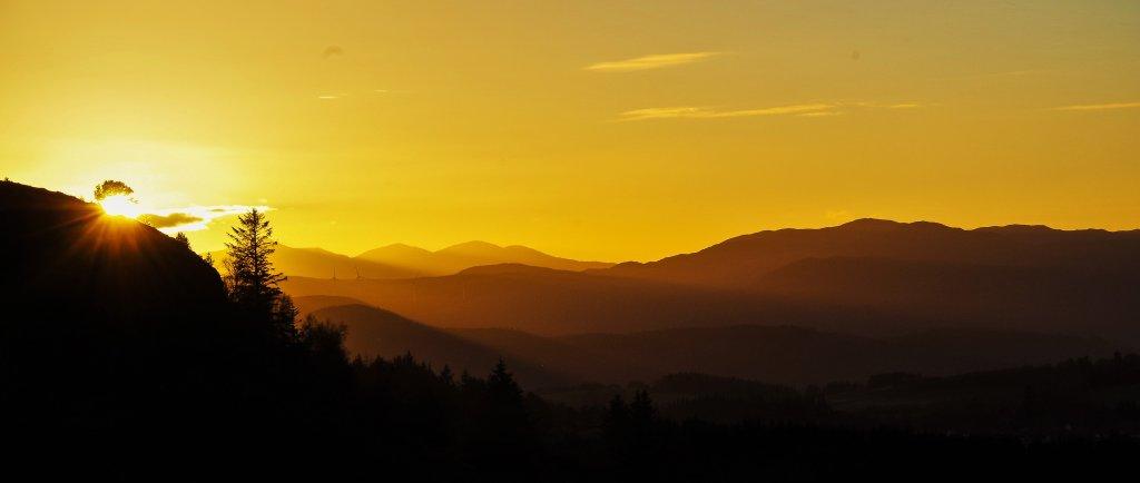 Knockfarrel sunset