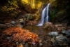 Beautiful Waterfall in the Heart of Adirondacks
